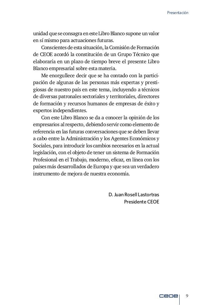 """11 Introducción Introducción """"Formando nuestro futuro…"""" Laformaciónnoconstituyeactualmenteunaetapaúnicaeini- cial en la vi..."""