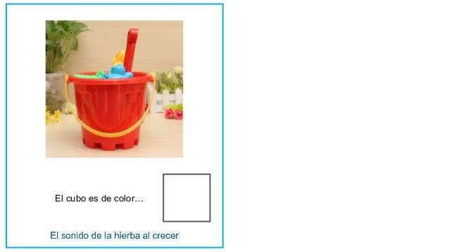 El cubo es de color…