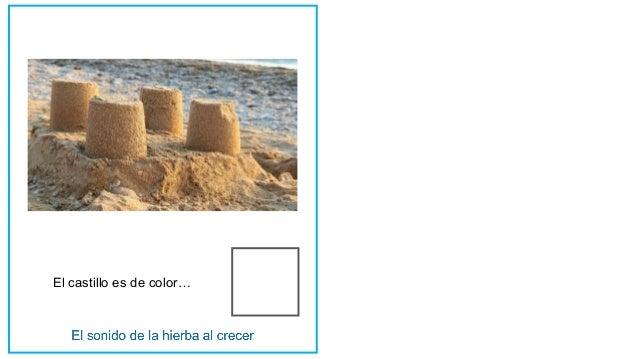 El castillo es de color…