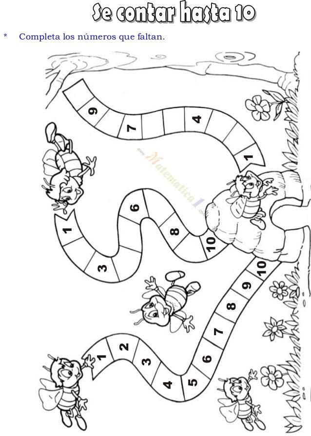 Vistoso Páginas De Actividades Para Niños De 4 Años Componente ...