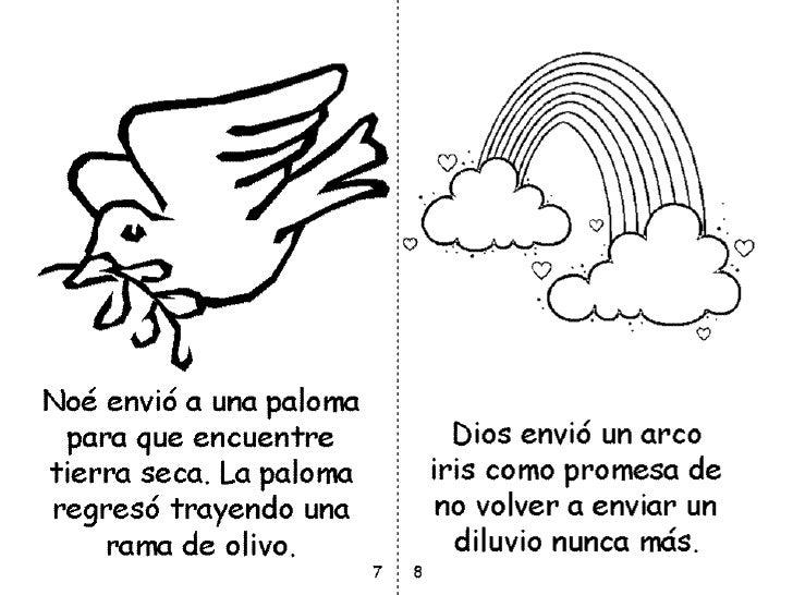 Dibujos Para Colorear Del Arca De Noe Para Imprimir: Libro Del Arca De Noe Para Colorear