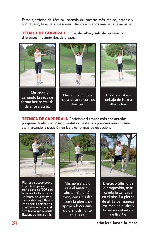 Estos ejercicios de técnica, además de hacerte más rápido, estable y                coordinado, te evitarán lesiones. Hazl...