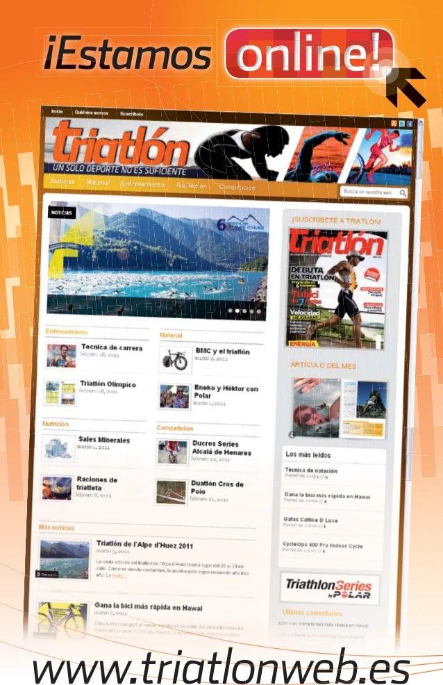 ¡Estamos      www.triatlonweb.estriatlon web.indd 81   07/03/2011 15:00:49