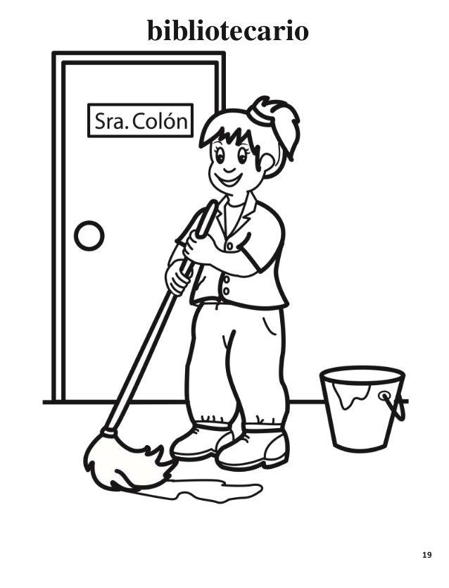 dibujos para colorear el portero