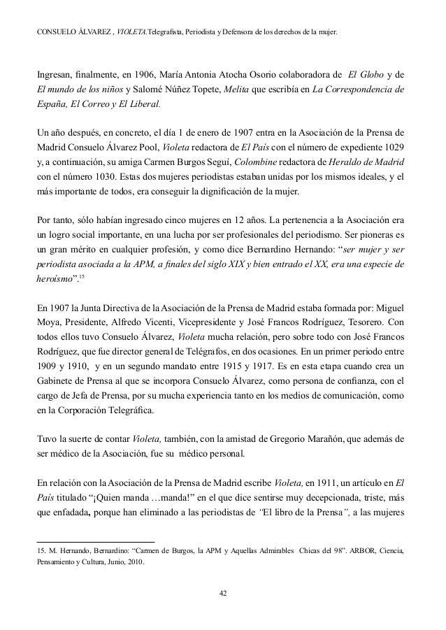 Libro Violeta - Consuelo Álvarez 1º parte