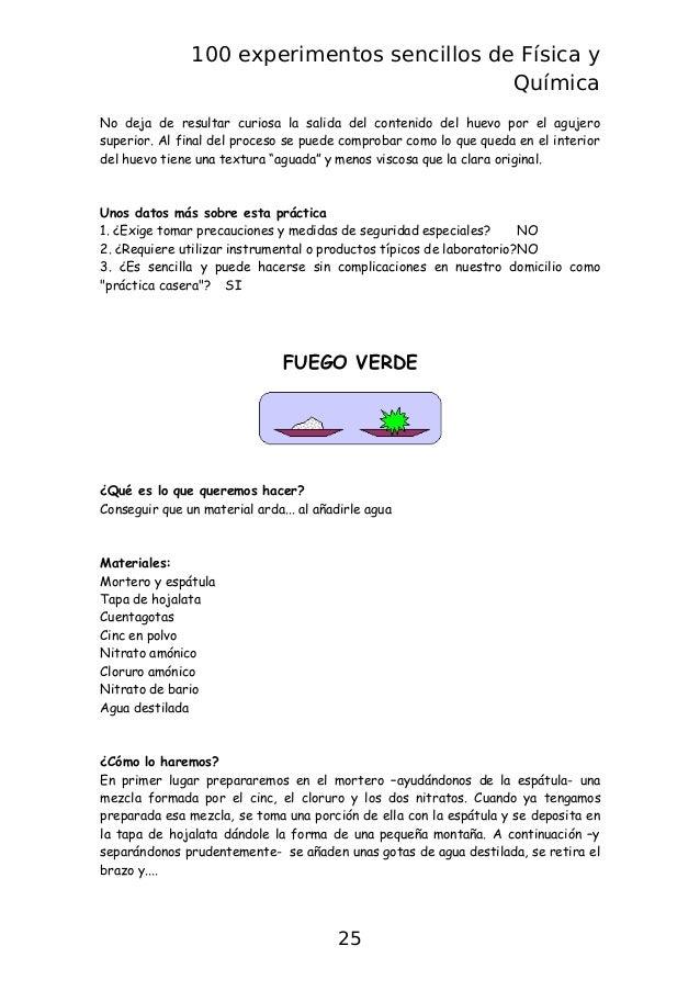 Libro 100 experimentos sencillos fisica y quimica for La quimica y la cocina pdf