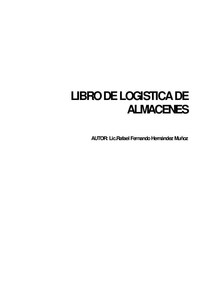 Libro Almacenes Y Logistica