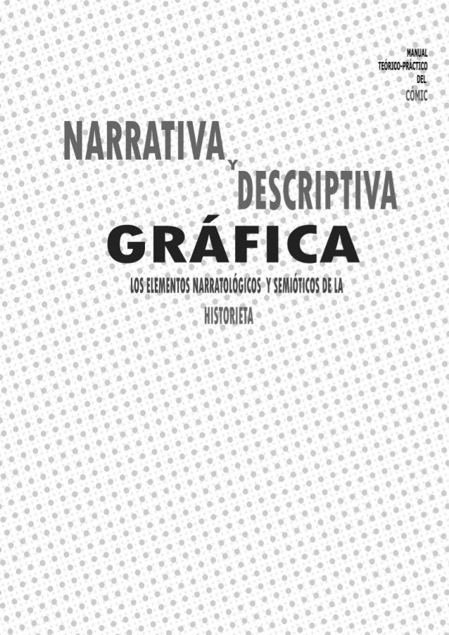 Narrativa y descriptiva gráfica Ana Bell Chino teoría historieta Slide 3
