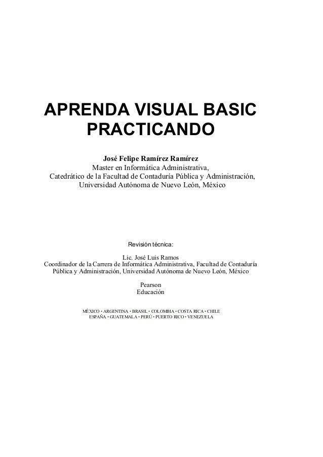 Libro aprenda visual_basic_practicando Slide 3