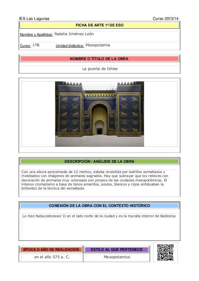 2013/14 IES LAS LAGUNAS - Dpto Geografía e Historia LIBRO DE HISTORIA DEL ARTE DE LA E.S.O. TRABAJO COLABORATIVO 3.ArteEgi...