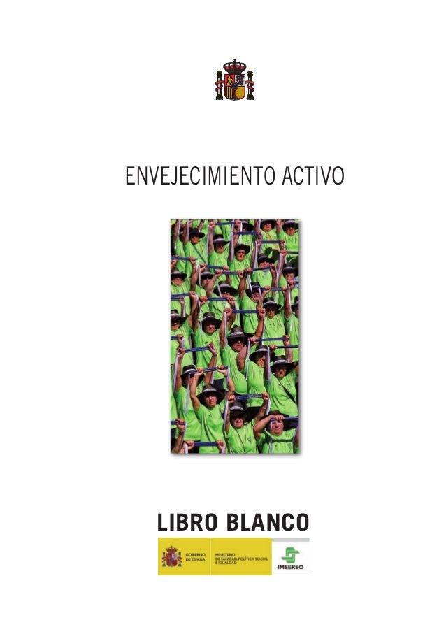 Envejecimiento Activo LIBRO BLANCO