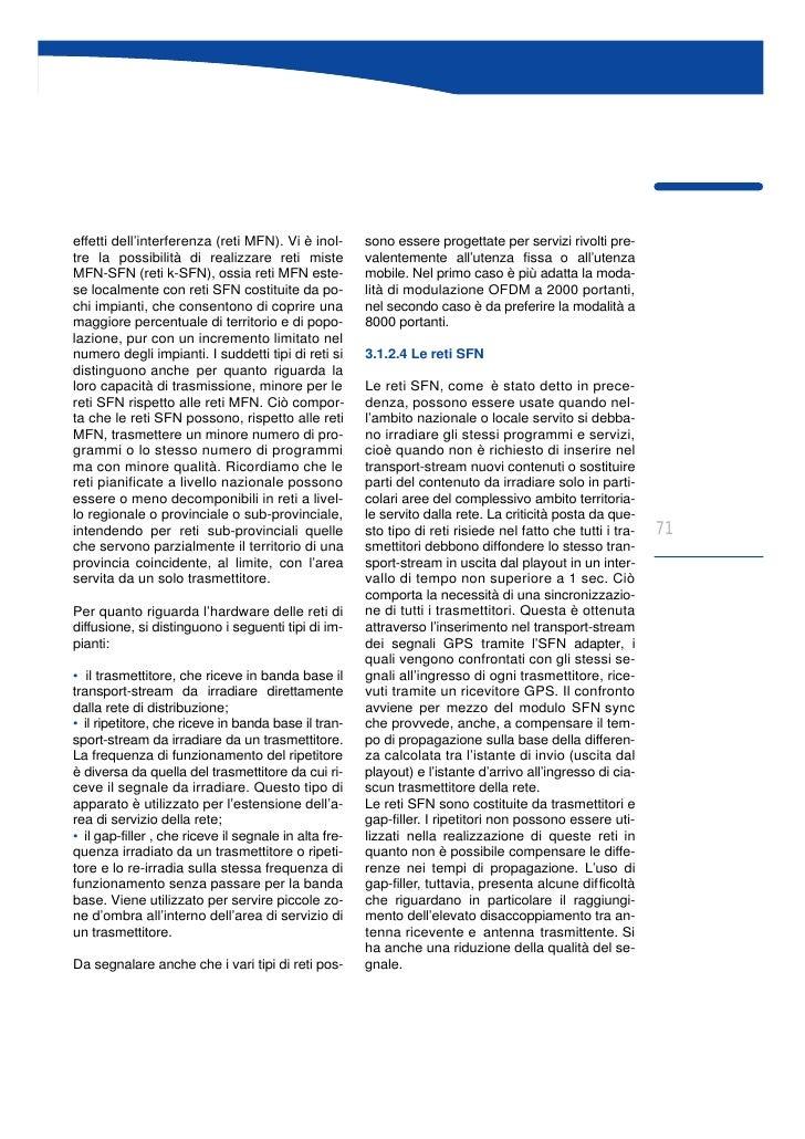 Libro Bianco sulla Televisione Digitale Terrestre