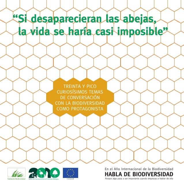 ooümnnononooo  A Y PICO NIOS TEMAS VERSACIÓN ODIV  TI Nub IS  TRE CUHO DECON  En el Año Internacional de Ia Biodiversidad ...