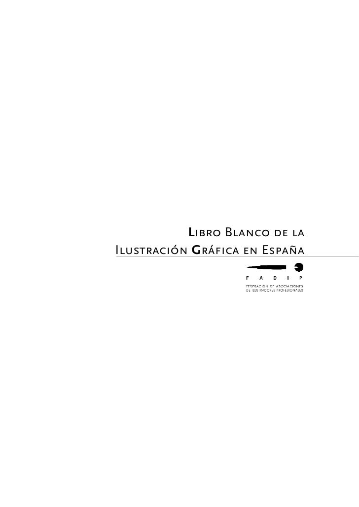 Libro Blanco de laIlustración Gráfica en España