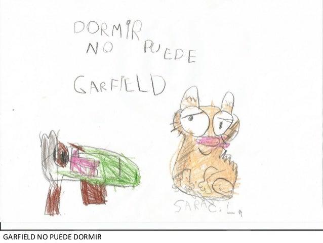 GARFIELD NO PUEDE DORMIR
