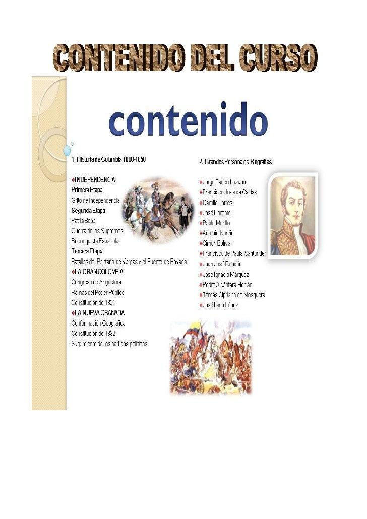 Línea de Tiempo : Historia de Colombia 1800-1850  Nombre del maestro/a: Angelica Arias Prada  Nombre del estudiante:______...