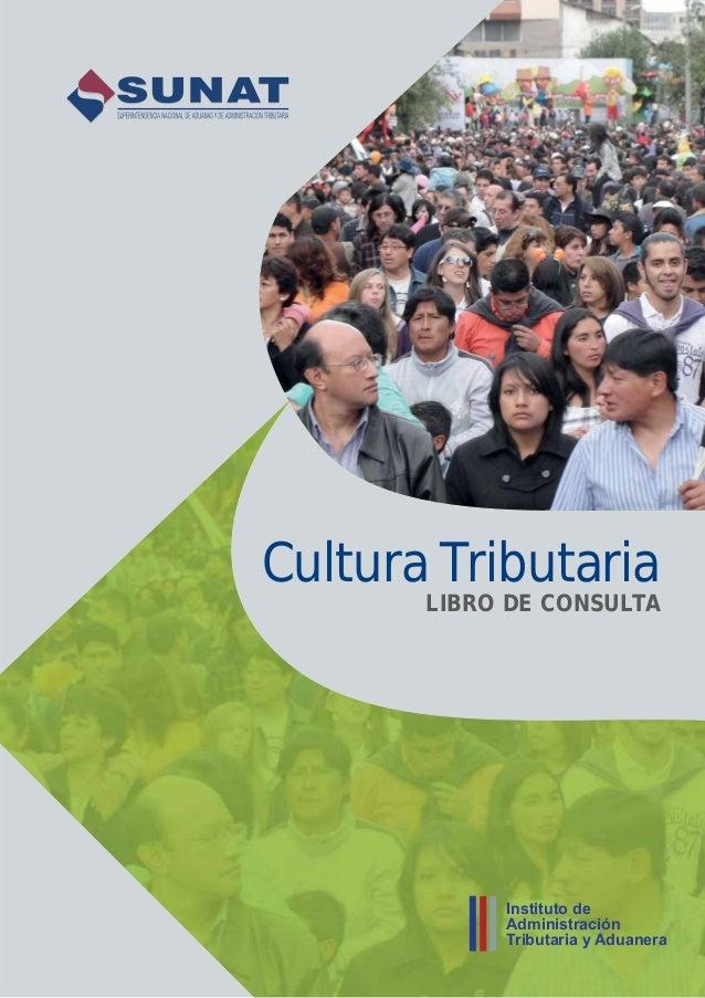Cultura Tributaria LIBRO DE CONSULTA