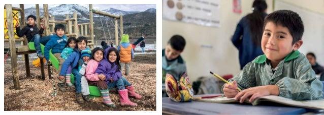 """Desafío Levantemos Chile Con """"Desafío de Aprender"""", financiados principalmente por la señora Evelyn Ergas, apoyamos a jard..."""