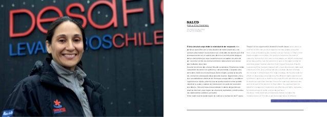 Desafío Levantemos Chile tivos médicos y dentales en distintos sectores del país. También hemos logrado establecer importa...