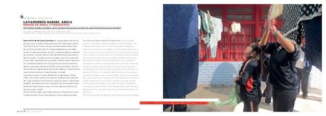 Desafío Levantemos Chile triales y una secadora, además de un sector de lavado manual. También nos capacitaron en la organ...