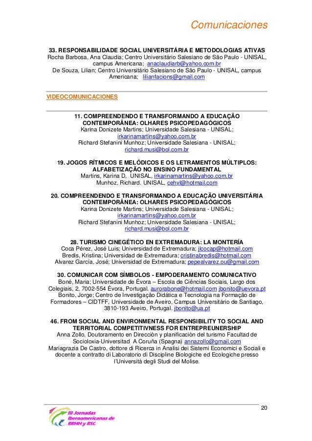 Libro de Actas III Jornadas Iberoamericanas RRHH y RSC 2014 76c6d6f9b72