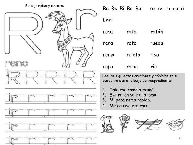 Dibujos con ra re ri ro ru