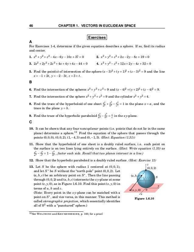 1.7 Curvilinear Coordinates 47 1.7 Curvilinear Coordinates x y z 0 (x, y, z) x y z Figure 1.7.1 The Cartesian coordinates ...