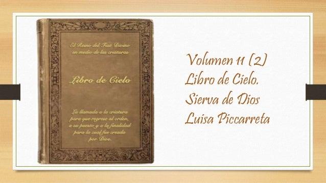 Volumen 11 (2) Libro de Cielo. Sierva de Dios Luisa Piccarreta