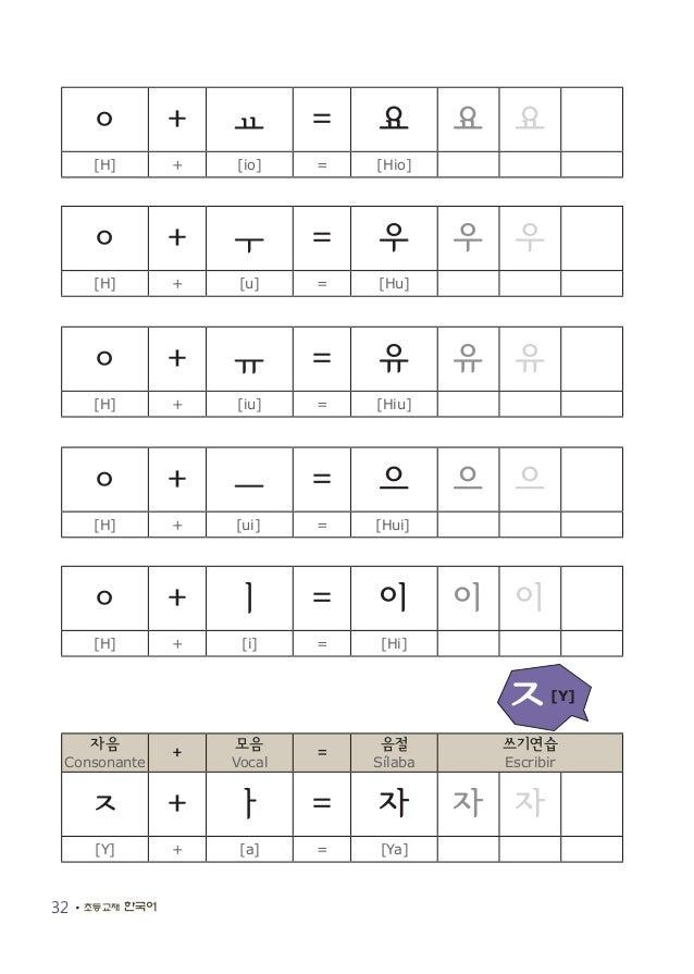 Libro de coreano básico