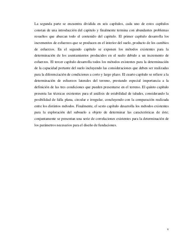 La segunda parte se encuentra dividida en seis capítulos, cada uno de estos capítulos  constan de una introducción del cap...