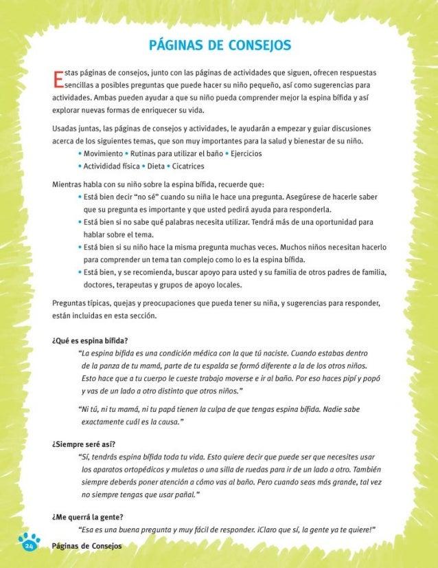 Libro de espina bifida