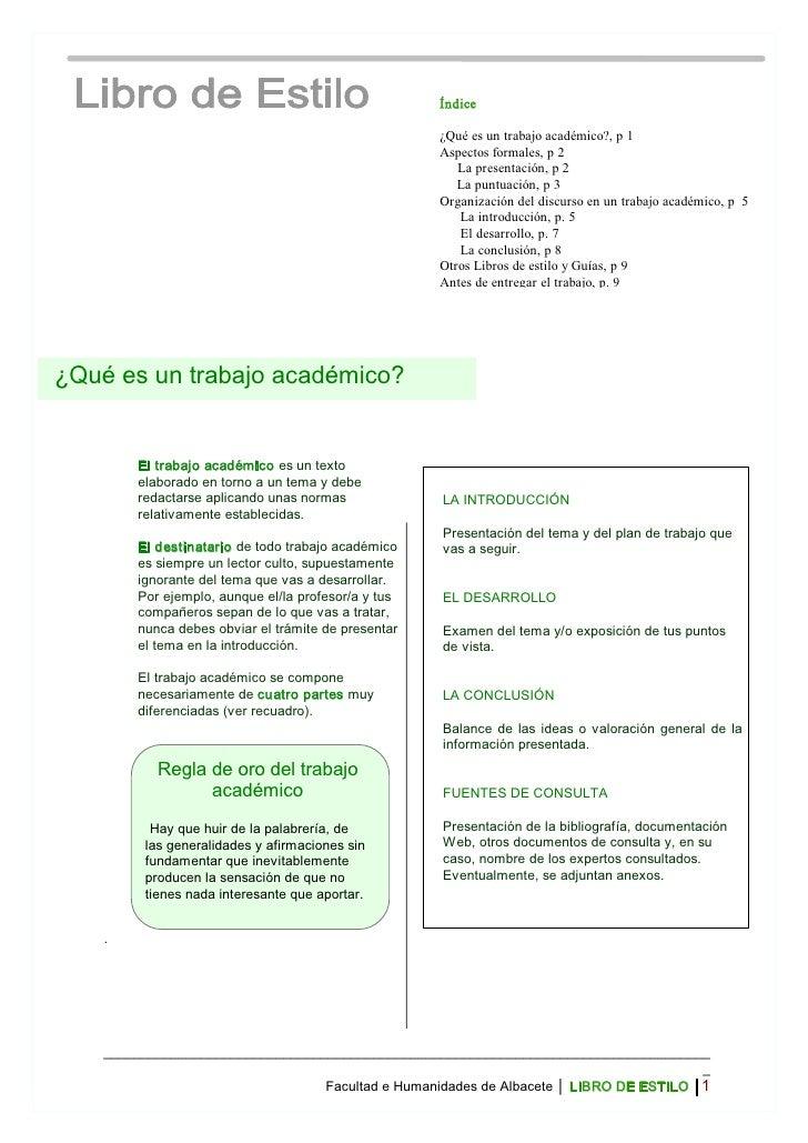 Índice                                                         ¿Quéesuntrabajoacadémico?,p1                       ...
