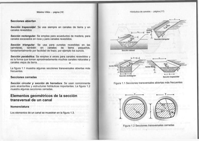 Máximo Villón * página ( 1 6 ) S e c c i o n e s a b i e r t a s Sección t r a p e z o i d a l . S e u s a s i e m p r e e...