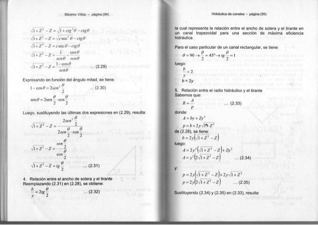 Máximo Villón - página (94) Vi +z 2 - z V i + z 2 - z V i + z 2 - z -Jl + Z 2 - z Vl + Z 2 - z -Z = J + ctg¿ 0 -ctgd -Jcse...