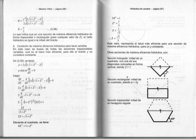 Máximo Villón - página (96) 2y[2-Jl + Z2 - Z) R = ^ . . . ( 2 . 3 6 ) 2 L o q u e i n d i c a q u e e n u n a sección d e ...