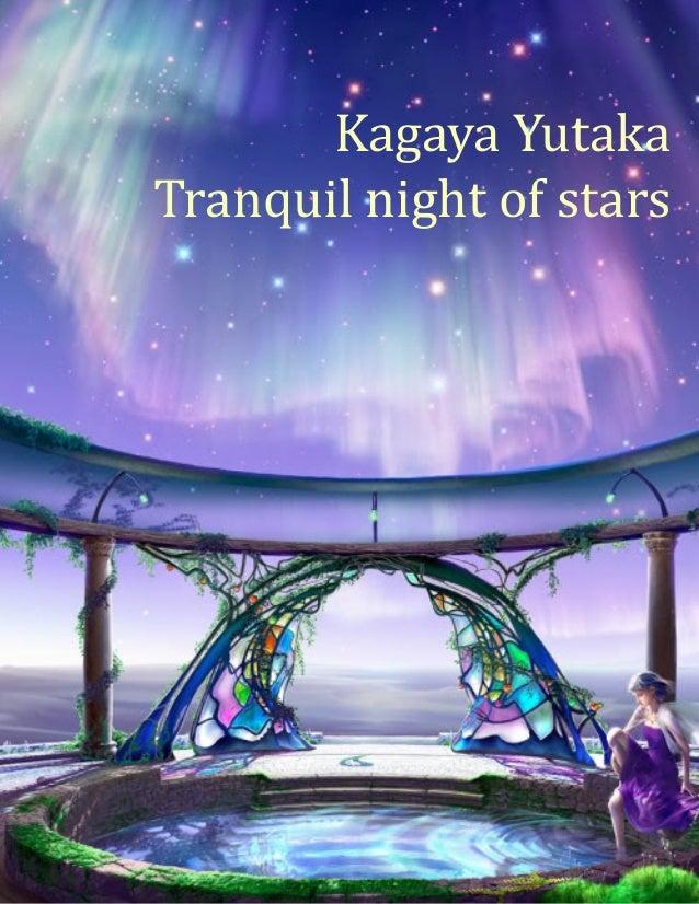 1Kagaya YutakaTranquil night of stars