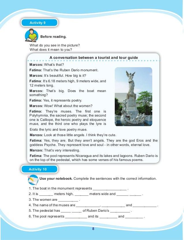 Libro De Ingles 8vo Grado