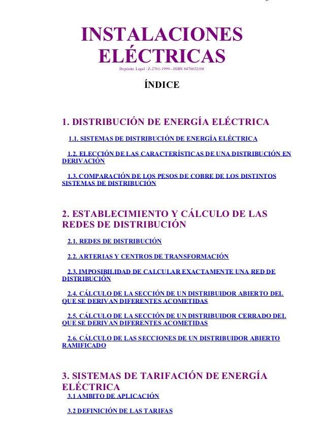 indice                                                                         Página 1 de 4                 INSTALACIONES...