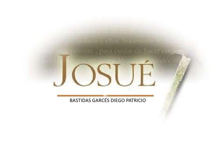 BASTIDAS GARCÉS DIEGO PATRICIO