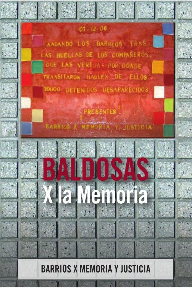 BALDOSAS   X la MemoriaBARRIOS X MEMORIA Y JUSTICIA