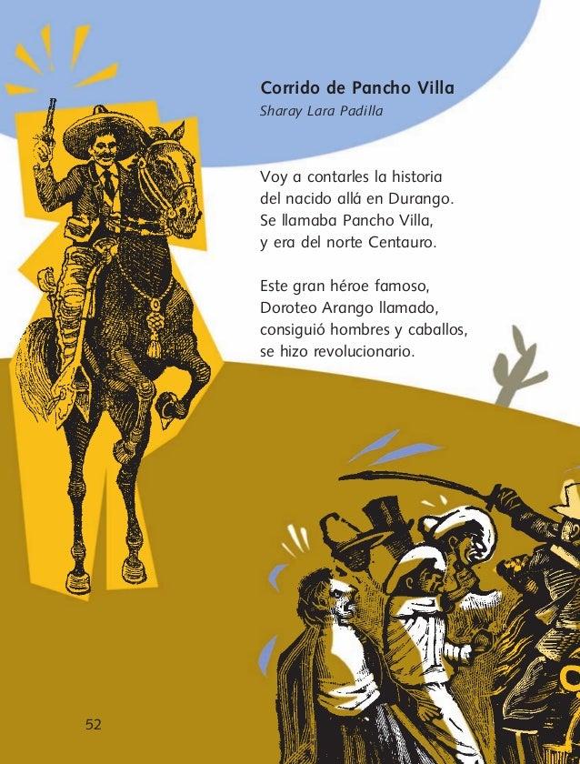 Corrido De Pancho Villa Letra