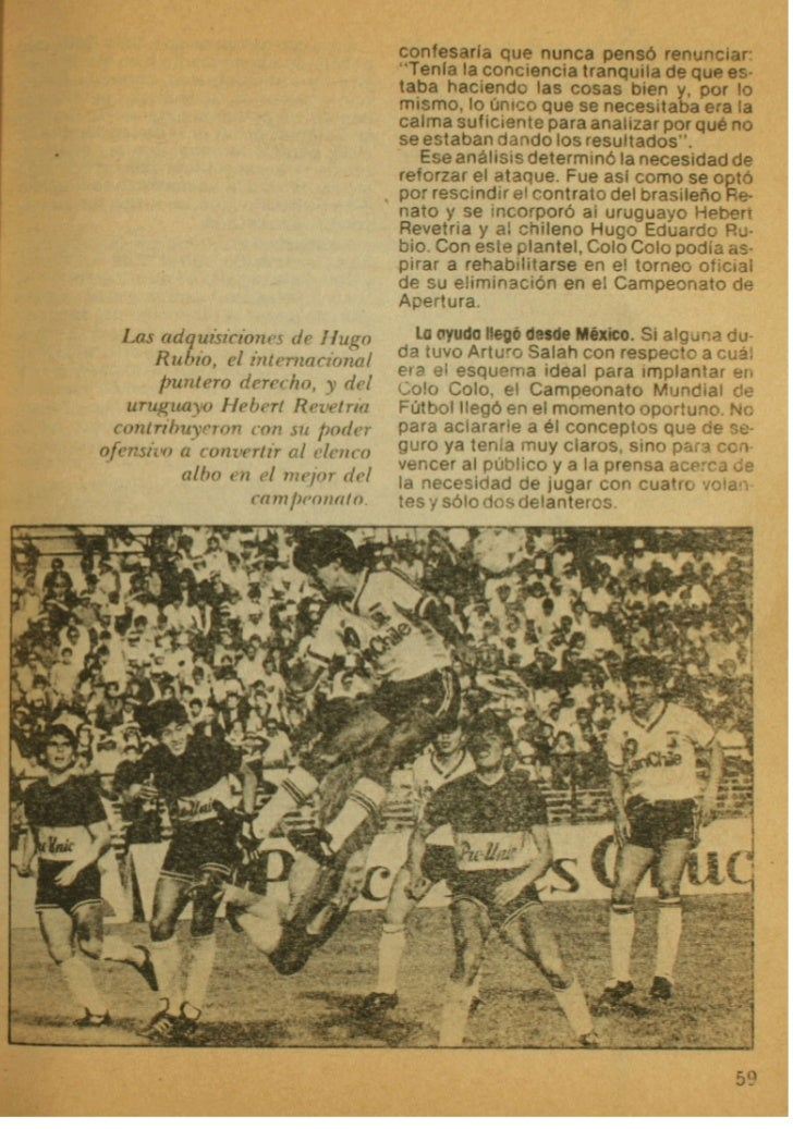 Libro de Oro de Colo-Colo 1925 -1987