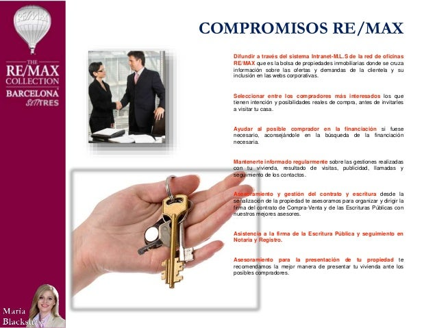 Presentacion De Servicios Inmobiliarios Maria Blackshaw Re