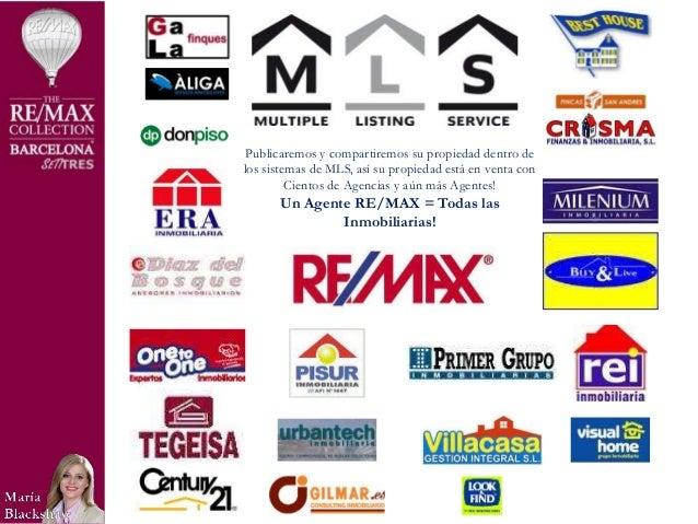 Presentacion de servicios inmobiliarios maria blackshaw re max collec - Inmobiliaria la casa barcelona ...