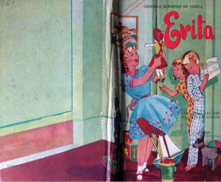 Libro de primer grado PERON 1953
