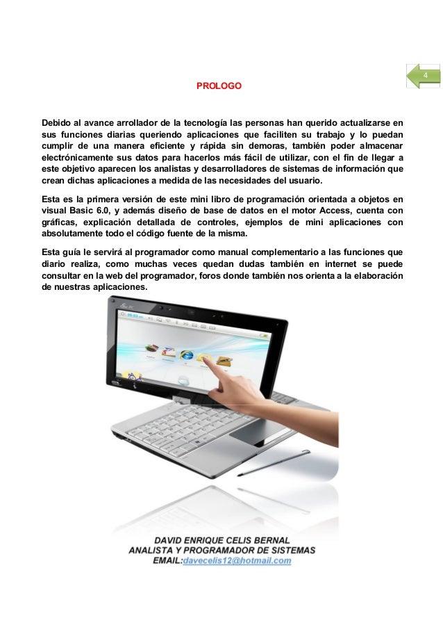 Libro de programacion visual basic 6 0