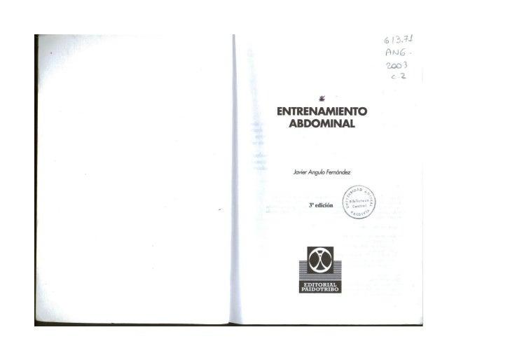 Libro Entrenamiento Abdominal