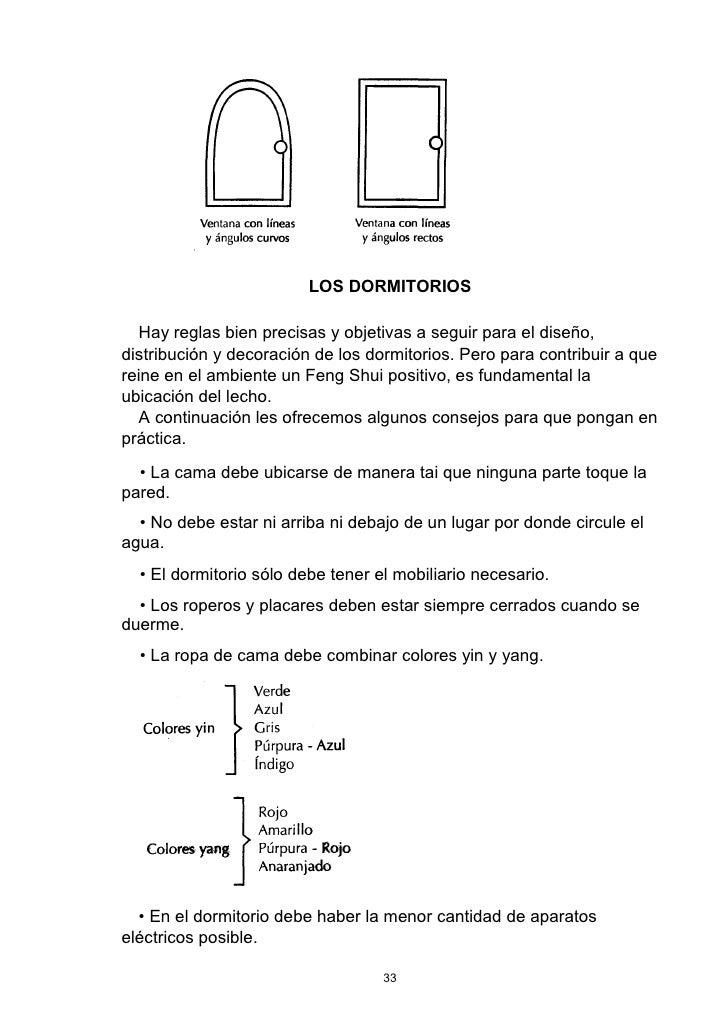 Reglas del feng shui excellent tipo de terreno hay que for Reglas del feng shui en el dormitorio