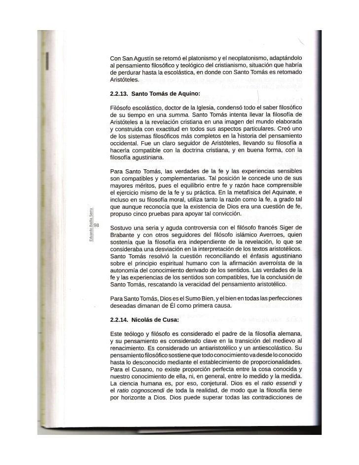 APUNTES PARA EL ESTUDIO DE LA FILOSOFIA PARTE 4