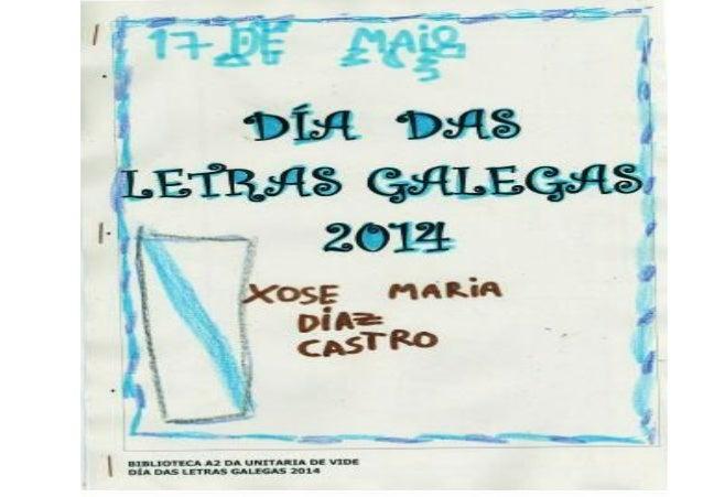 Libro letras galegas 2014